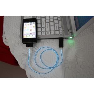 Светящийся кабель для зарядки