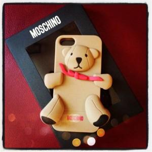 Силиконовый 3D чехол MOSCHINO Bear