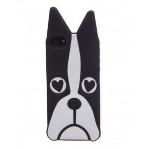 Силиконовый 3D чехол Marc Jacobs dog