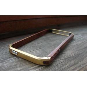 Бампер деревянный Ronin 5 Element Case золотой