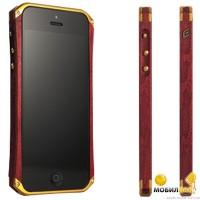 Бампер деревянный Ronin 5 Element Case Gold