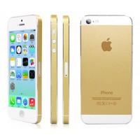 Золотая пленка для iPhone 5