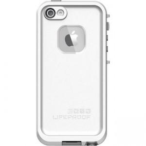 Чехол Lifeproof белый для iphone 5/5s