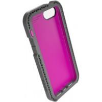 Чехол Lunatik Seismik розовый для iPhone 5/5s
