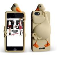 Силиконовый 3D чехол MOSCHINO Duck