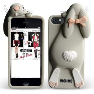 Силиконовый 3D чехол MOSCHINO Rabbit