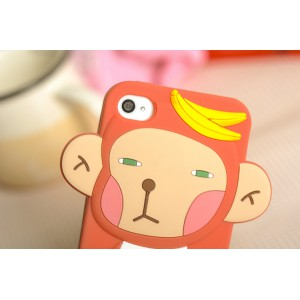 Силиконовый чехол Roman  обезьяна для iphone 5/5s