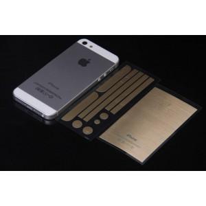 купить золотую пленку для iPhone 5