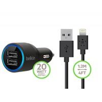 Автомобильное зарядное устройство USB 2 Belkin 2.1
