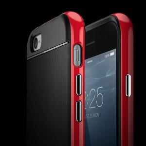 Бампер Spigen полный  Красный для iPhone 6 (4,7)