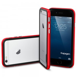 Бампер Spigen Красный для iPhone 6 (4,7)
