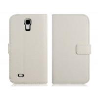 Чехол книжка белого цвета для Samsung Galaxy S4